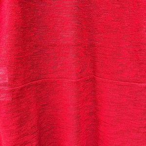Kasper Sweaters - Kasper Open Front Red Cardigan Petite Medium